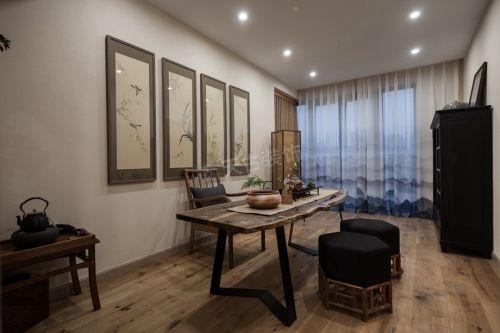 鲁能星城装修|新中式风格案例实景图