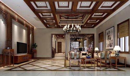 融创玫瑰园装修|天古装饰独栋别墅设计案例