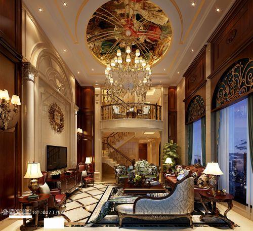 贵阳乐湾国际420㎡别墅装修,颜值爆表的迷人欧式新古典