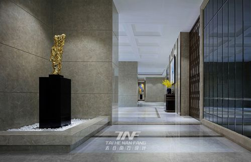 深圳华苑大堂—轻奢时尚