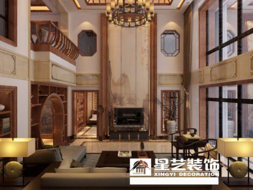中航城120平米别墅装修效果图,贵阳别墅装修公司,星艺装饰