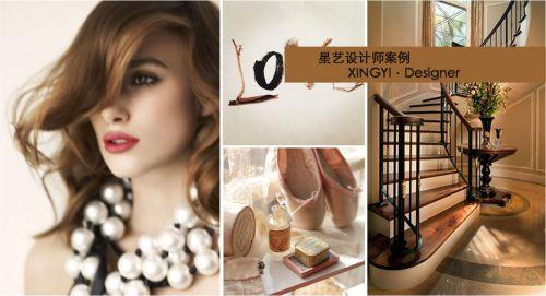 星艺装饰贵阳装修公美的林城时代复式装修,欧式新古典纯美设计!
