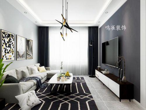 东方新天地样板间装修现代风格设计鸣雀装饰