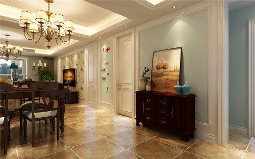 祥泰和院三室两厅现代美式装修效果图