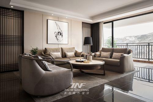 桂平凤凰城A1户型样板房--新中式简约