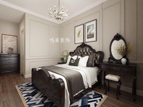 鸣雀装饰打造辰能溪树庭院南区美式风格三室一厅装修