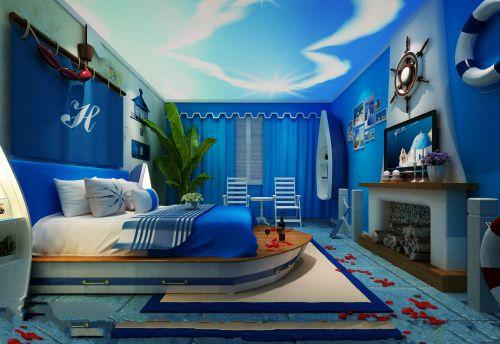 海洋主題酒店設計