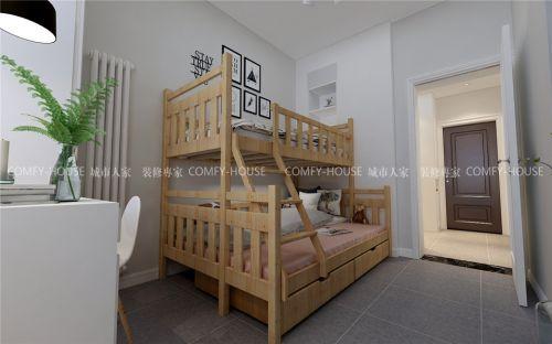 48平旧房北欧风装修改造实案-邮电新村