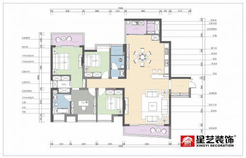 贵阳装修公司未来方舟145平小美式大宅设计案例!