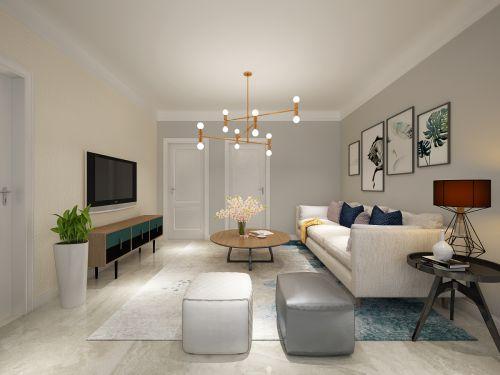 汇峰山海郡90平2室2厅简约风格
