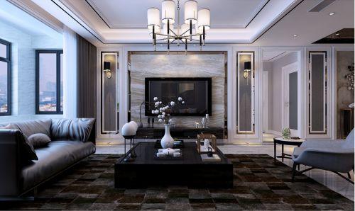 莱芜盛世豪庭现代风格装修效果图