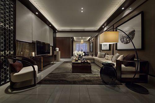 曲江观山悦-四居室228平米-新中式风格