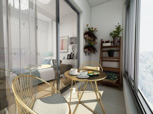 金地西沣公元3室2厅112平米欧式风格