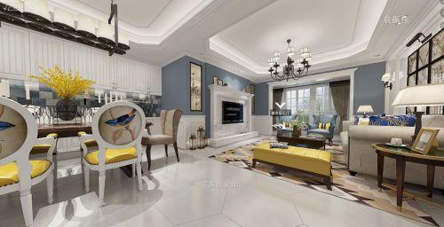 重庆约克郡装修设计|远景装饰|简美风格+loft风格