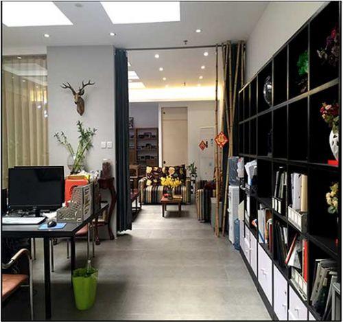 办公空间+新中式+120㎡