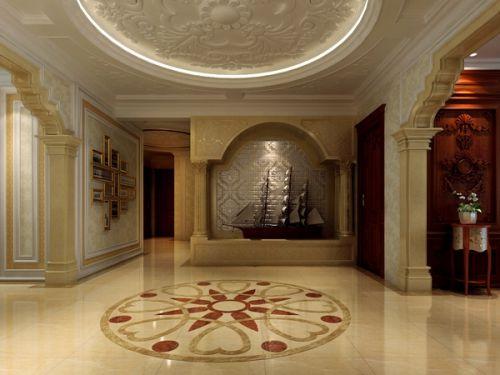 金地芙蓉世家--五居室--家装案例--欧式风格