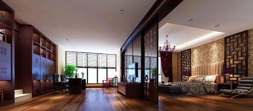 金地湖城大境--五居室--家装案例--混搭风格