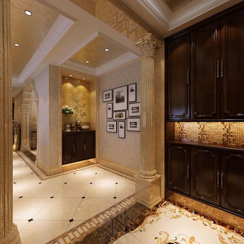曲江·六号--四居室--家装案例--欧式风格