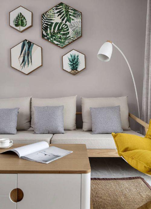 80㎡北欧风格家居装修设计,简单的故事,简单的人,简单爱!