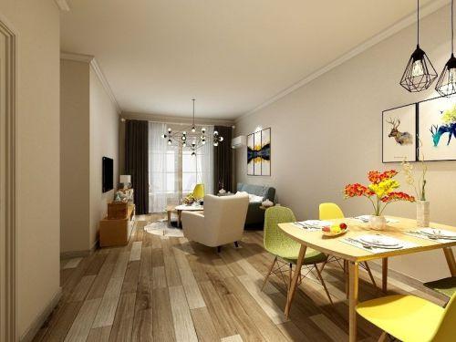 龙湖香醍西岸3室2厅130平米欧式风格