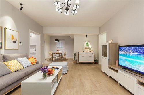 龙湖枫香庭3室2厅95平米日式风格