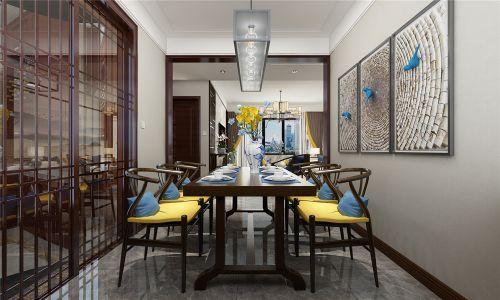 中海珑湾三室二厅中式风格装修效果图