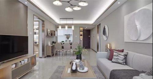 碧桂园125平简约中式风装修设计,简素之美让人陶醉!