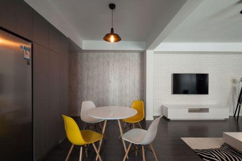 绿地香树花城3室2厅125平米混搭风格