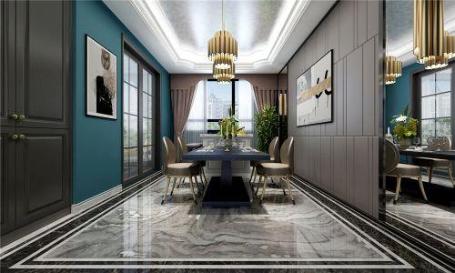 海尔绿城·麗园新古典风格装修效果图,非凡气度