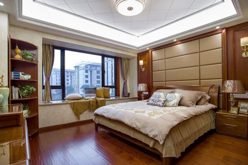 大华公园世家3室2厅150平米中式风格