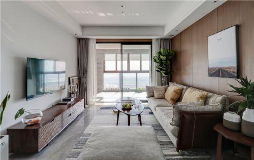 105㎡台式风格家居装修设计案例