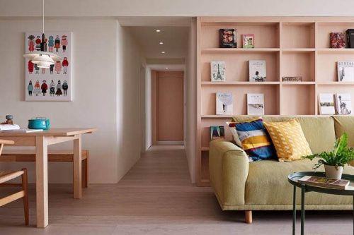 115平米白桦林间3室2厅简约风格