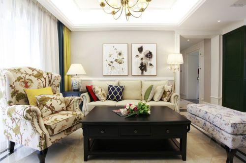 八水御源3室2厅118平米美式风格