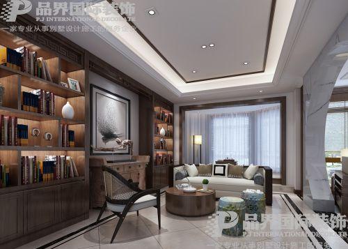 保利高尔夫4室2厅500平米中式风格