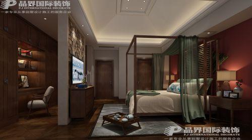 和黄逸翠庄园4室2厅350平米中式风格