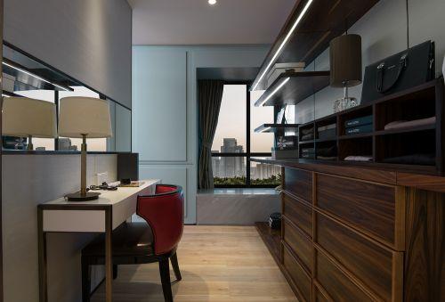 山水绿城打造143平后现代风格