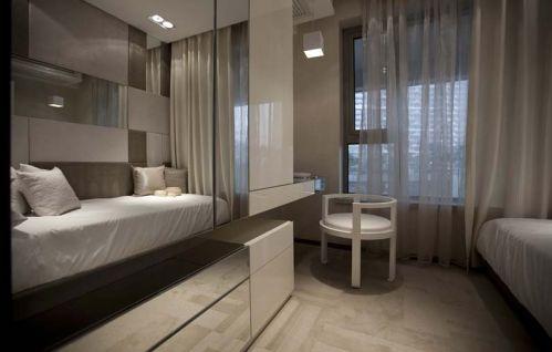 西锦城3室2厅87平米现代风格