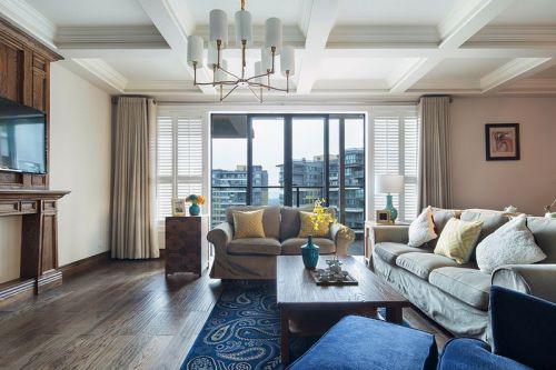 东岸阳光4室2厅150平米混搭风格