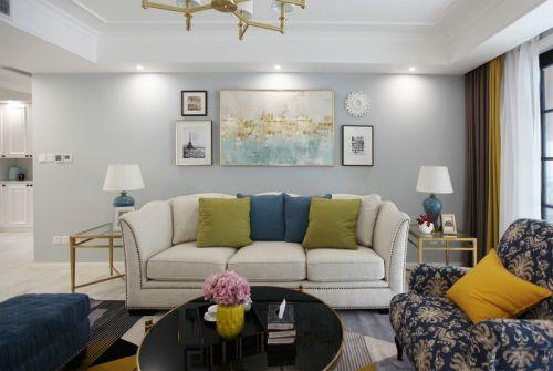半坡国际广场3室2厅138平米美式风格
