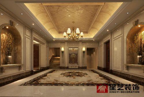贵阳千平独栋别墅装修,法式风格设计效果图!