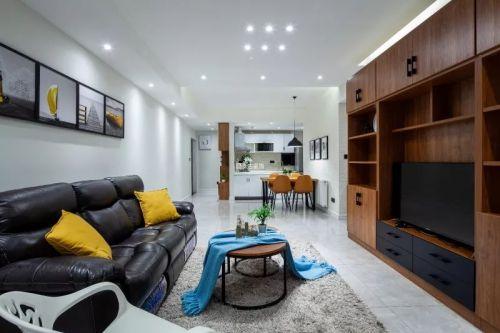 保利香雪北欧风格装修设计实景案例分享
