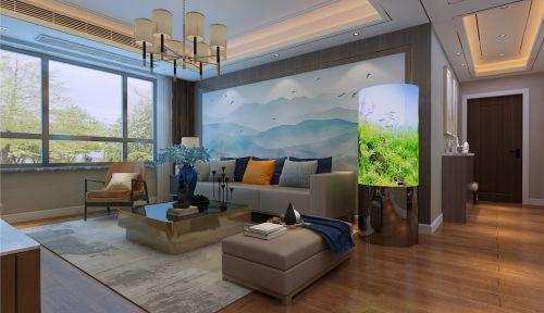 映月紫云城现代简约风格装修效果图,简洁大方