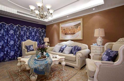 东岸阳光3室2厅125平米地中海风格