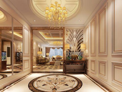贵阳中天世纪新城180平高雅奢华美式风格设计!