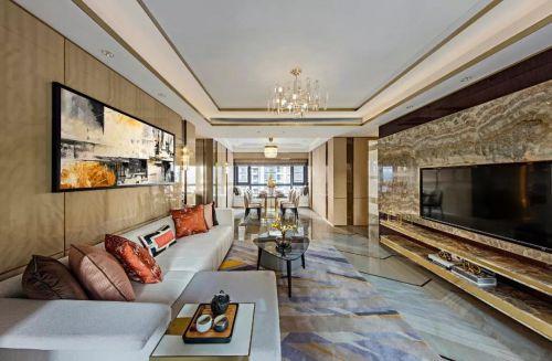 天山九峰290㎡现代奢华空间,标榜高品质的都市生活!