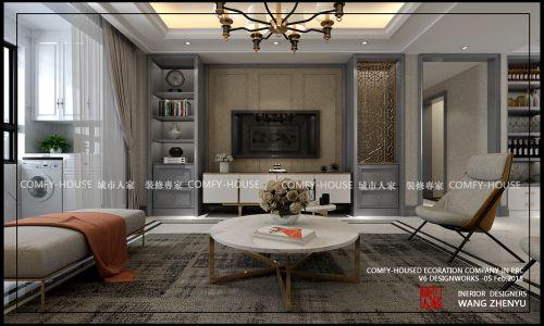 翡翠大观158平混搭风格装修方案,家里藏着你生活的样子