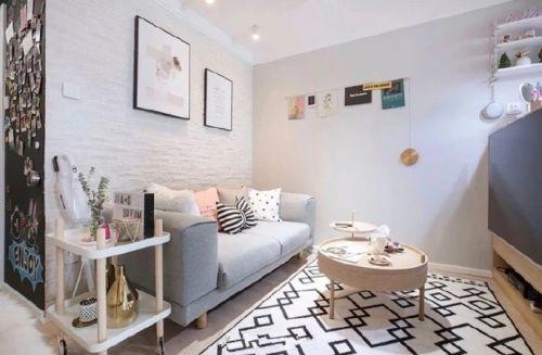 北欧风小公寓,颜值与实用兼具,满满的少女心~
