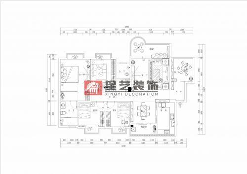 其他小区4室2厅150平米中式风格