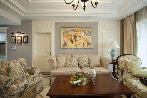 龙湖源著洋房户型装修|天古装饰简欧风格案例