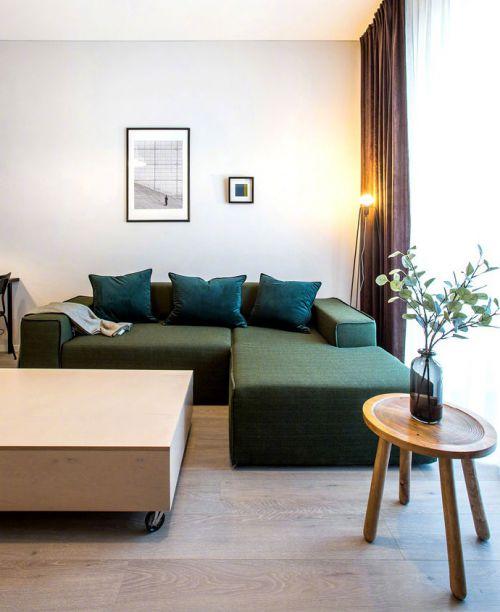小而美的公寓,就是这么酷!